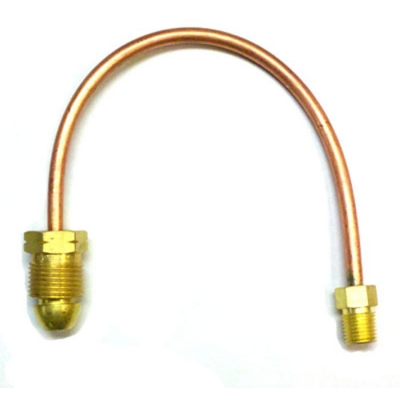12 Quot Copper Pigtail Pol Male X 1 4 Quot Male Pipe Thread