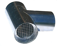 Z Vent Iii Termination Tee Stainless Steel Vent Pipe 3