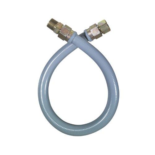 Dormont 36 Gray Coated Flexible Outdoor Liance Connector 3 4 Ings