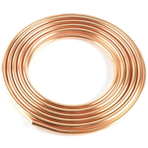 Type l soft copper tubing 60 39 roll 3 8 id 1 2 od for Copper pipe types