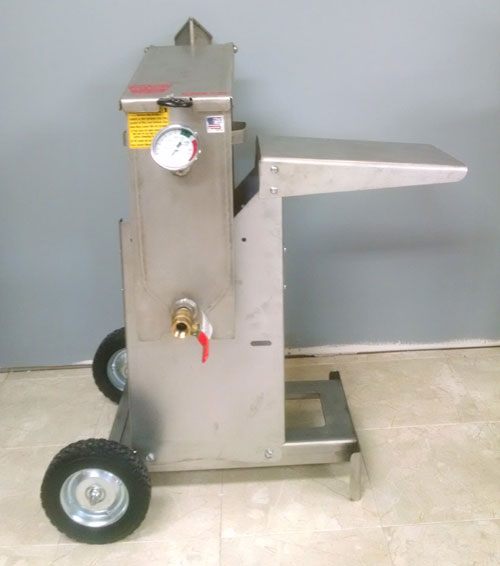 R Amp V Works Cajun Fryer 2 5 Gallon Outdoor Deep Fryer Ff1r