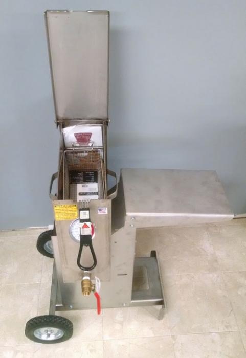 R&V Works Cajun Fryer 2.5 Gallon Outdoor Deep Fryer FF1R ...