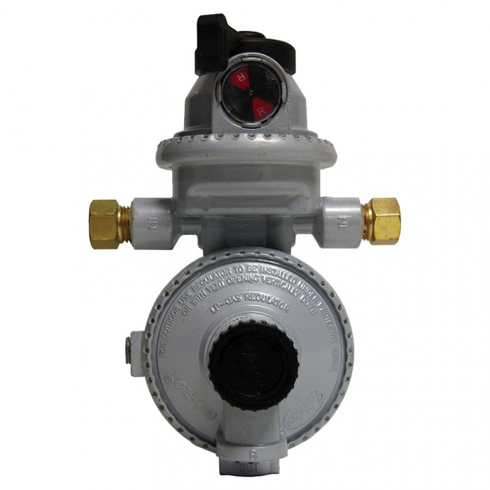 Fairview Propane Automatic Changeover Regulator With 15