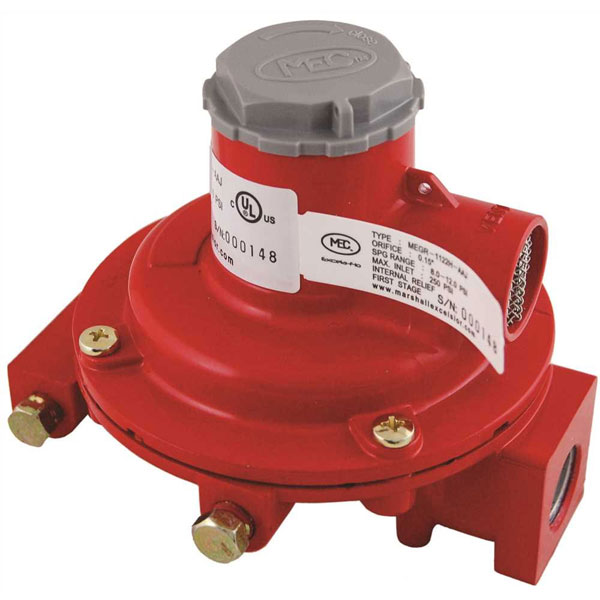 Marshall 1122h Aaj First Stage Propane Lp Regulator 10psi