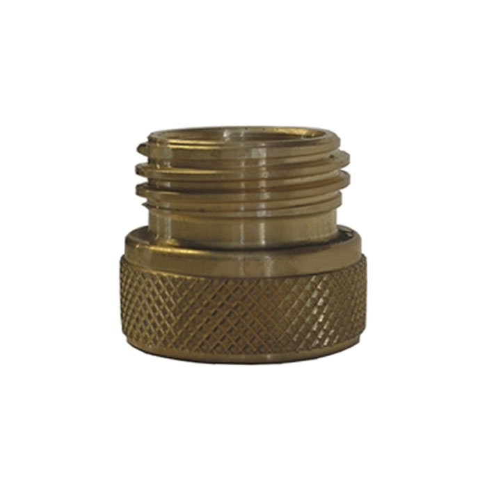 Converts Propane LP TANK POL service valve to QCC Outlet Brass Adapter ER