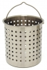 Bayou Classic 122QT Stainless Steel Basket