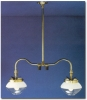 Falks 2707 Double Ceiling Gas Light