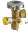 Rego 100 lb Cylinder Valve with Dip Tube