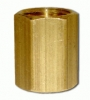 "1/4"" F x 1/4"" F Brass Pipe Coupling"