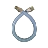 """Dormont 60"""" Gray Coated Flexible Outdoor Appliance Connector 3/4"""" Fittings"""