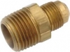 "Brass Flare Adapter 3/8"" Male Flare x 1/4"" MIP"